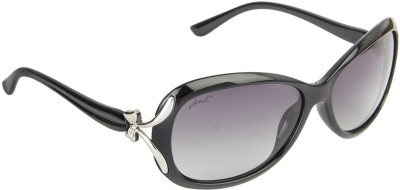 Walnut Oval Sunglasses