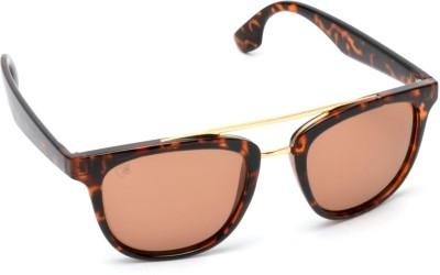 MTV MTV-141-C4 Wayfarer Sunglasses(Brown)