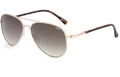 IDEE 2044 Aviator Sunglasses(Golden)