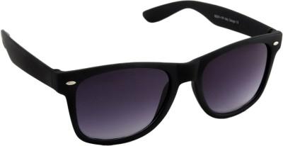 Irayz Matte Black Wayfarer Sunglasses