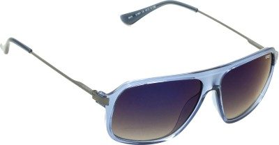 IDEE IDEE-S1981-C6 Rectangular Sunglasses(Blue, Multicolor)