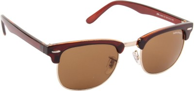 Farenheit 1440-C3-F Wayfarer Sunglasses(Brown)