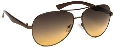 Olvin OL265-02 Aviator Sunglasses(Brown)