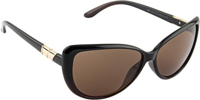 Farenheit �1310-c3 Cat-eye Sunglasses(Brown)