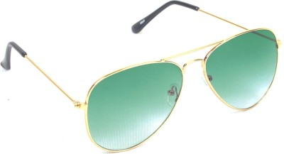 6by6 SG566 Aviator Sunglasses(Green)