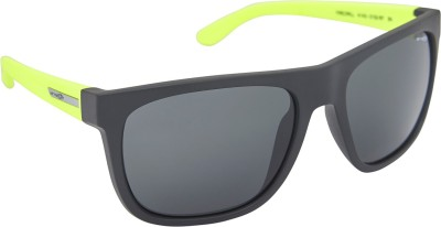 Arnette AN_4143_FDBLKBLK3 Wayfarer Sunglasses(Black)