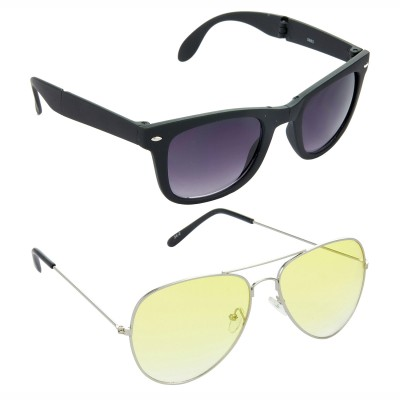 Red Leaf RCMB252_1 Wayfarer, Aviator Sunglasses(For Boys)