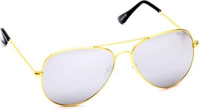 Beqube VF C3 L10_0 Aviator Sunglasses(Silver)