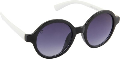 Funky Boys 3040-C3 Round Sunglasses(Grey)