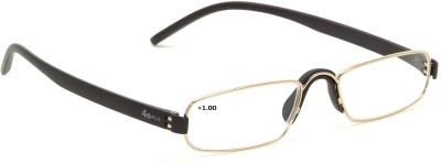 40 XPLUS Reading EyeGlass Power +1.00 Rectangular Sunglasses