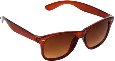 brown wayfarer sunglasses jb93  New Zovial Sober Brown Wayfarer Sunglasses