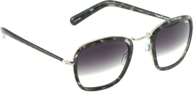 IDEE IDEE-2004-C1 Rectangular Sunglasses(Black, Grey)