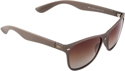 Farenheit FA-1196P-C3 Wayfarer Sunglasses(Brown)