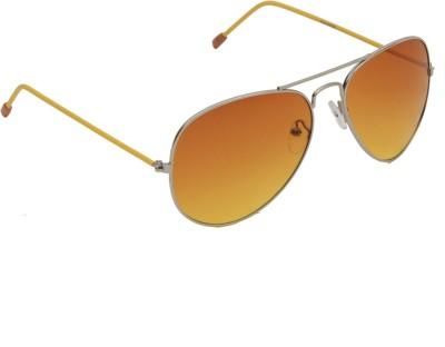 6by6 SG1225 Aviator Sunglasses(Yellow)