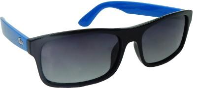 Red Knot Rectangular Sunglasses