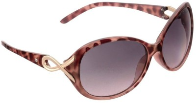 Glares by Titan G188PLFLTB Over-sized Sunglasses