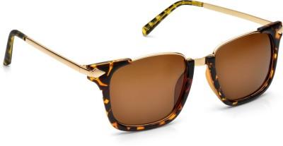 De Rene Modish (Leopard) Wayfarer Sunglasses