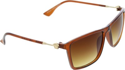 Vast VRSC_THIN_WFR_BROWN Wayfarer Sunglasses(Brown)