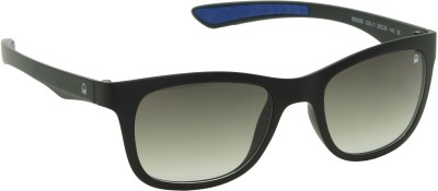 United Colors of Benetton Black Wayfarer Sunglasses