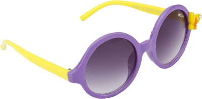 Froggy Butterfly Round Sunglasses