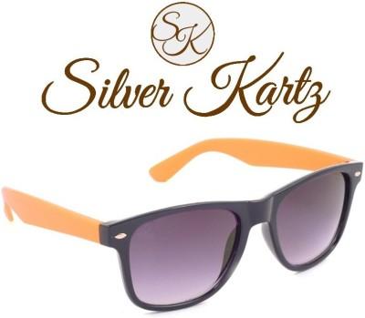 Silver Kartz Classic Wayfarer Sunglasses
