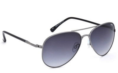 IDEE IDEE S2044 C2 59 Aviator Sunglasses(Grey)