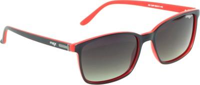 IMAGE IM-451-C4-P Rectangular Sunglasses(Black)