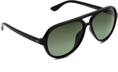 6by6 6B6SG1196 Aviator Sunglasses(Green)