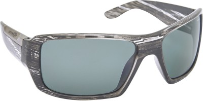 Arnette AN_4168_BDBLKMULTI Rectangular Sunglasses(Black)
