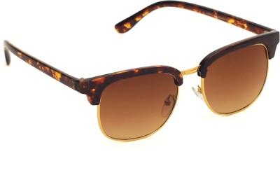 6by6 SG1533 Wayfarer Sunglasses(Brown)