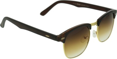 Vast CM_BROWN_GOLD Wayfarer Sunglasses(Brown)