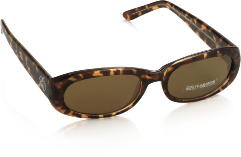 Harley Davidson HDS 5009 TO-1 Oval Sunglasses(Brown)