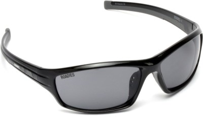 MTV Roadies RD-130-C4 Sports Sunglasses(Grey)