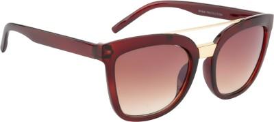 Crazy Eyez Sky High Rectangular Sunglasses