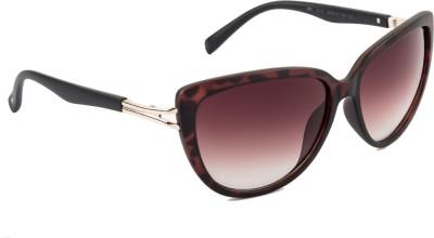 Farenheit FA-2212-C2 Over-sized Sunglasses(Brown)