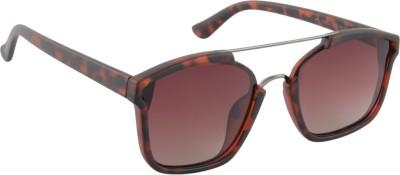 Farenheit SOC-FA-1376P-C3 Spectacle Sunglasses(Brown)
