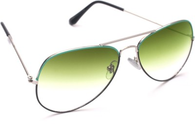 6by6 SG964 Aviator Sunglasses(Green)