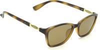 Fizan FZ-1297-C6-P Cat-eye Sunglasses(Brown)