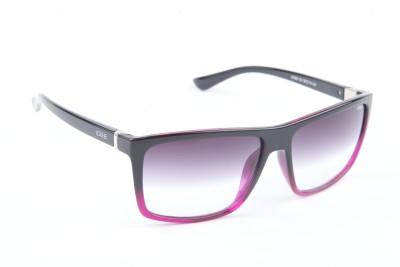 IDEE IDEE-1809-C8 Rectangular Sunglasses(Black)