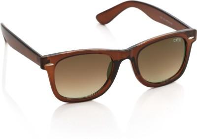 IDEE 1727 C2 Wayfarer Sunglasses(Brown)