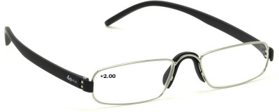 40 XPLUS Reading EyeGlass Power +2.00 Rectangular Sunglasses