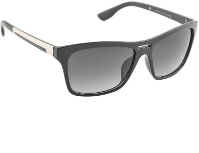 IRAYZ 1225 Wayfarer Sunglasses(Black)