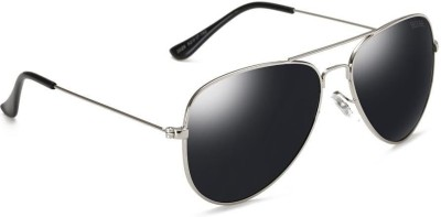 Beqube VF C2 L1_0 Aviator Sunglasses(Black)