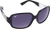 NOD NOD062K15IN0680 Over-sized Sunglasses(Black)