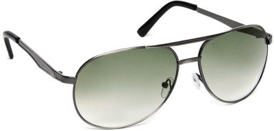 Olvin OL254-03 Aviator Sunglasses(Green)