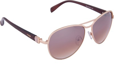 IMAGE 463-C3 Aviator Sunglasses(Brown)