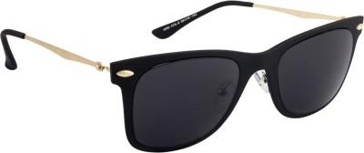 Farenheit FA-6662-C6 Wayfarer Sunglasses(Black)