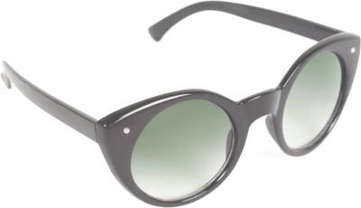 6by6 SG384 Round Sunglasses(Black)