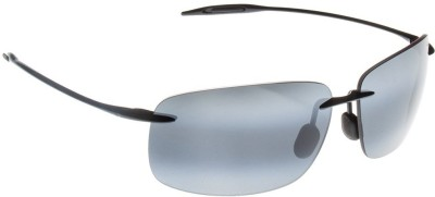 Maui Jim Breakwall Rectangular Sunglasses