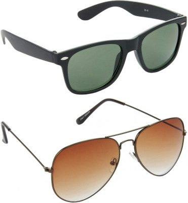 Red Leaf RCMB280_1 Wayfarer, Aviator Sunglasses(For Boys)